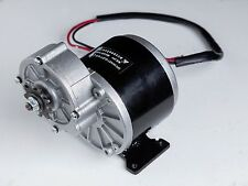 250 Watt 24 Volt electric motor f bicycle bike gokart MY ZY1016z3 gear reduction