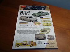 TRAX CATALOGUE 1ST EDITION 2004 EH UTE XT GT XL SQUIRE WAGON XT FAIRMONT SANDMAN