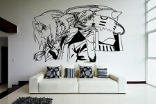 Wall Vinyl Sticker Decal Anime Manga FMA Fullmetal Alchimist Edward Elric V001