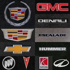 Classic Loop 4pc Carpet Floor Mats for GM Vehicles-Choose Carpet Color & Logo