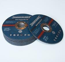 METAL CUTTING DISCS 115 X 3mm 22.2mm BORE  PACK OF 10 DIY