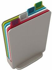 Joseph Joseph Index Mini Chopping Board Set Silver Set Of 4 Cutting Boards