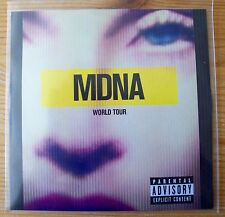 RARE MADONNA MDNA WORLD TOUR PROMO DVDr NUMBERED 120  CLEAR PLASTIC SLEEVE 2013