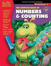 MATH NUMBERS & COUNTING FOR PRESCHOOL/KINDERGARTEN (BY MCGRAW-HILL)    NEW!!