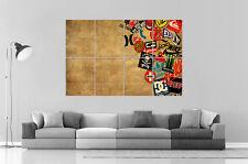 LOGO SKATEBOARD Poster Grand format A0 Large Print