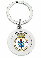 HMS MIDDLETON KEY RING (METAL)