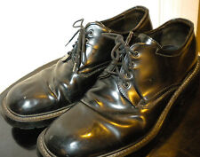 j crew men dress shoes made in italy black leather 10 m
