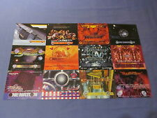 12 ONE 1 NATION OLDSKOOL DNB JUNGLE RAVE FLYERS AWOL INNOVATION TELEPATHY PACK 1