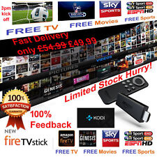 ULITMATE Amazon Fire Stick with Kodi & FULLY LOADED WITH TOP ULTIMATE BUILD & XX