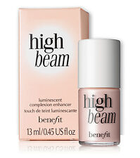 NWOB AUTHENTIC FULL SIZE .45 BENEFIT HIGH BEAM HIGHLIGHTER LIQUID LUMINIZER!