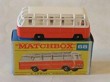 Mint In Original Box Matchbox No 68 Mercedes Coach Excellent MIB Quality