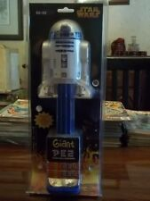 MIP Giant Star Wars R2-D2 Pez Candy Collectible Music Dispenser