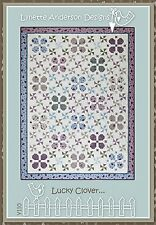 LUCKY CLOVER QUILTING PATTERN, Lynette Anderson Designs NEW