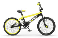 Velo BMX INSTINCT alu aluminium Noir Jaune 20 pouces 360° Bike Bicycle yellow