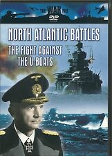NORTH ATLANTIC BATTLES DVD - THE FIGHT AGAINST THE U-BOATS - THE WAR FILE