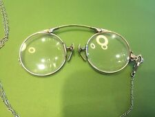 Eyeglasses Antique Spring Pads.Sterling Silver.C12Pix4Closeups&detail.MAKE OFFER