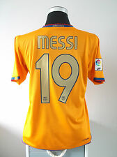 Lionel MESSI #19 Barcelona Away Football Shirt Jersey 2006/07 (M)
