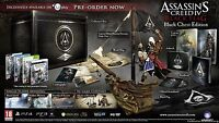 BRAND NEW ASSASSINS CREED IV BLACK FLAG BLACK CHEST COLLECTORS EDITION XBOX 360