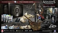 Marca nuevo Assassins Creed IV Black Flag Negro Pecho Collectors Edition Xbox 360