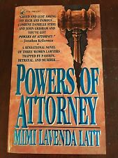 Powers of Attorney by Mimi Lavenda Latt ( PAPERBACK )