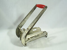 Vintage Potato Slicer French Fries Ekco Potato Chipper Red Handle