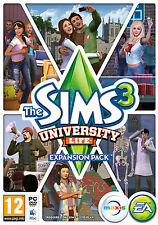 The Sims 3: University Life Expansion (PC/MAC, Region-Free) Origin Download KEY