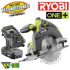 Ryobi P507 18V ONE+ 6-1/2 in. Cordless Circular Saw ZRP507 Kit Reconditioned