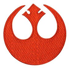 STAR WARS - Rebel Alliance Logo Rogue Squadron Red Embroidered - Iron On Patch 1