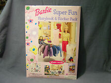 NEW BARBIE DOLL STORYBOOK STICKER PACK OVER 100 STICKERS GIRLS