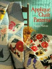 Treasury of Applique Quilt Patterns by Maggie Malone HARDCOVER 70 patterns