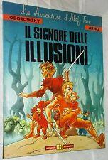 """Cartonato Alef- Tau """"Il Signore delle Illusioni"""" Alessandro editore 1990 ott/ed"""