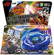 Ultimate BLUE Assault Meteo L-Drago Beyblade Starter Set NIP + Launcher US SELLR