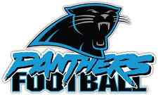 "Carolina Panthers NFL Football Bumper Locker Notebook Sticker Decal 6""X3"""