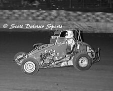1987 RON SHUMAN ASCOT TURKEY NIGHT GRAND PRIX USAC MIDGET 8 X 10 PHOTO