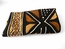 Superb African Bogolan Mali Mud Cloth Textile