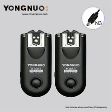 Yongnuo RF-603 II N3 Flash Trigger for Nikon D7000 D5100 D5000 D3100  D600 D90