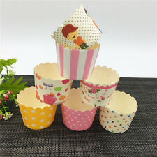 50PCS Cupcake Cups flag Chocolate Liners Baking Cupcake Cases Muffin Cake Cups