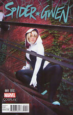 SPIDER GWEN #1 (2015) - All-New All-Different - Cosplay VARIANT COVER