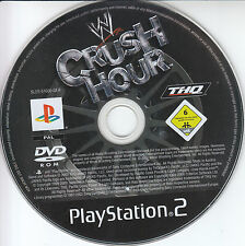 Sony PS2 THQ Crush Hour Play Station 2 nur Spiele DISC !
