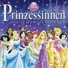 Prinzessinnen CD Disney Die Schönsten Lieder Deutsch Kids Soundtrack Musik Songs