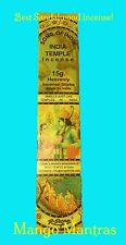 Song of INDIA TEMPLE Incense 15g Box Smells like Temples in India FREE SHIPPING