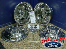 "05 thru 17 Ford Super Duty F350 Dually OEM Ford 17"" Wheel Liners Simulators"