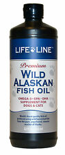 Wild Alaskan Fish Oil 32oz Fresh Premium Omega 3 EFA (similar to Salmon Oil)
