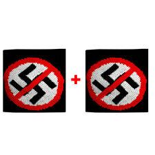 Coppia polsini divieto + divieto in spugna gruppi rock e bandiere