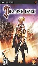 RARE COMPLETE w/ Manual  Jeanne D'Arc RPG for PSP
