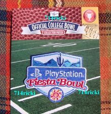 Official 2016 PlayStation Fiesta Bowl Patch Clemson Tigers Ohio State Buckeyes
