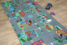 Large Children's Highway Roads 94cm x 200cm Kids Car Track Racing Play Mat
