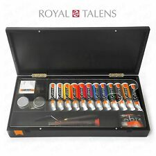 Royal Talens - Cobra Artist Water Mixable Oil Art Set in Premium Black Gift Box