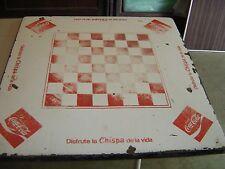 Coca-Cola Checkerboard Porcelain Table Top Sign 8322