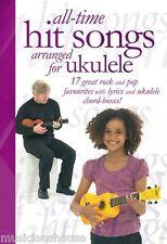 Ukelele todos los tiempos canciones de éxito de la música Libro Aprende A Tocar Pop Juego fácil para principiantes